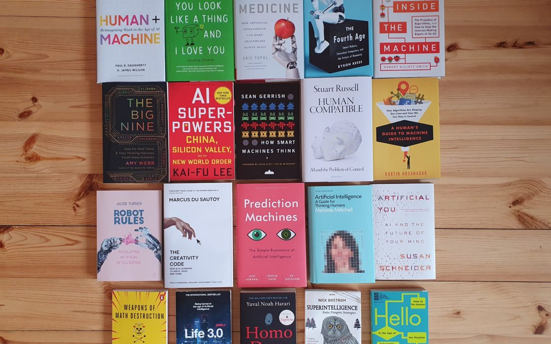 Top 20 Artificial Intelligence (AI) Books for 2020